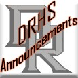 Dell Rapids High School Daily Announcements