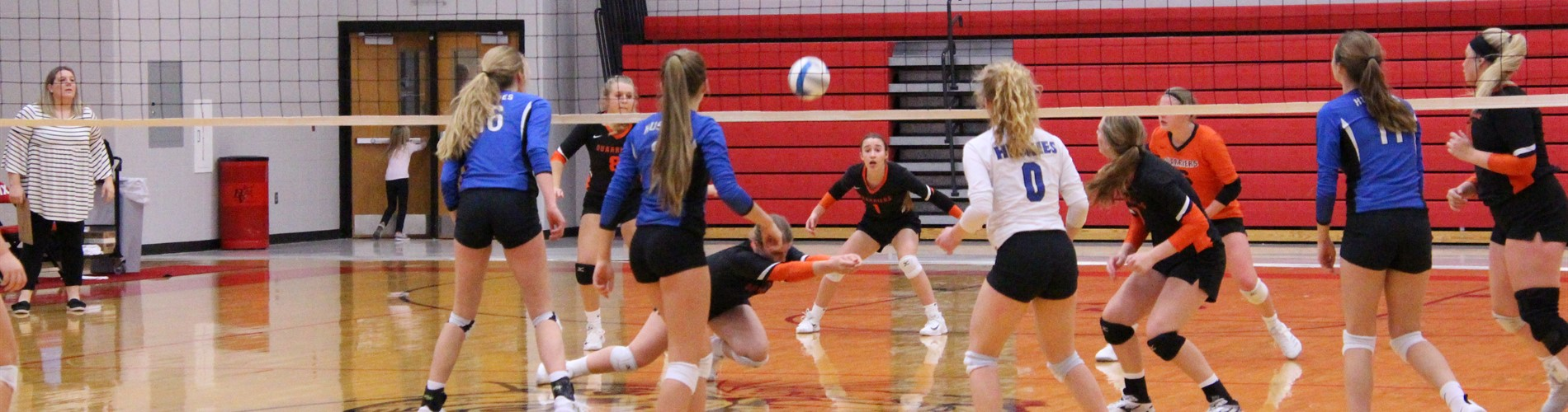 Volleyball Sweet 16 loss against Elk Point Jefferson Nov 6.
