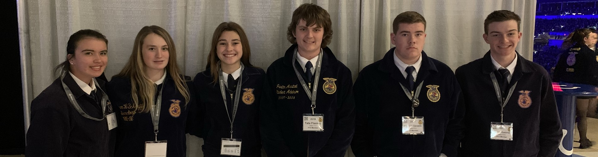 Pictured are the National FFA Convention attendees in Indianapolis, IN.