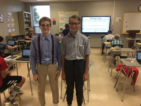 7th grade dress up day